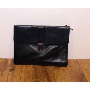 Kenneth Cole Leather Portfolio Briefcase